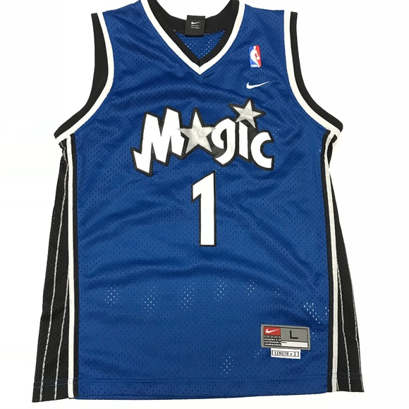 buy popular 7e81d 28343 Vintage Nike Orlando Magic Tracy Mcgrady Jersey